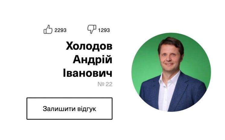 """""""Слуга народу"""" Андрій Холодов: Хто такий…"""