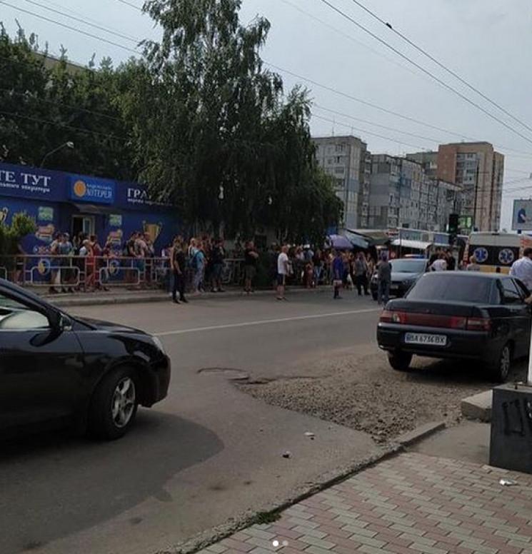 У Кропивницькому на Попова збили 52-річн…