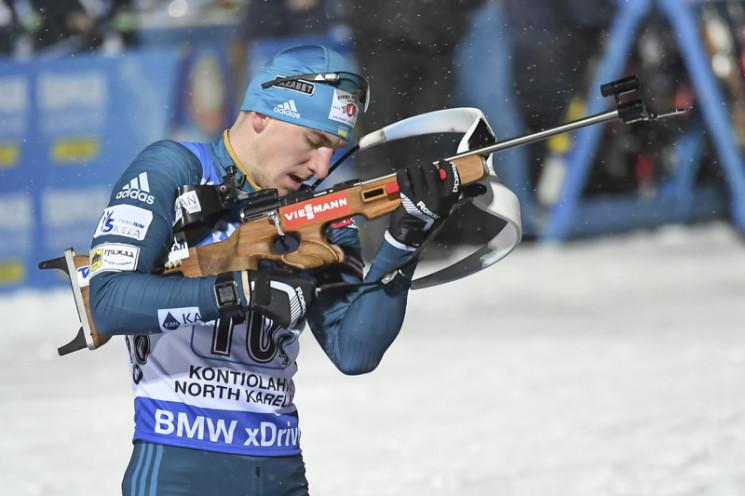 Український біатлоніст зупинився за крок…