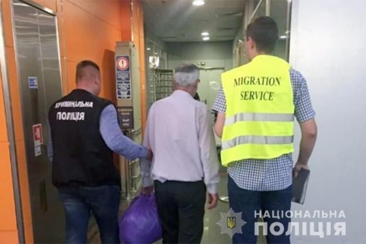 Нелегала-азербайджанця з кримінальним ми…