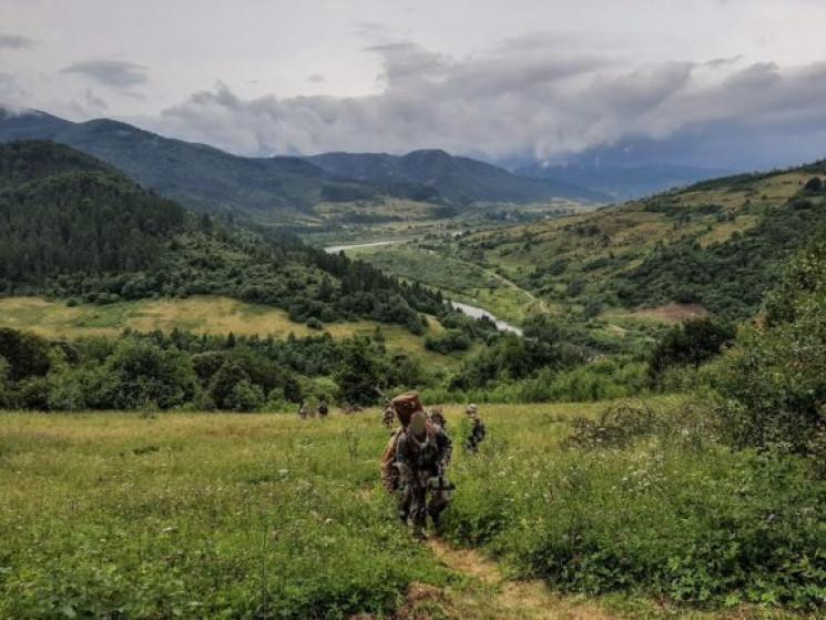 В Карпатах тренировались снайперы ССО…
