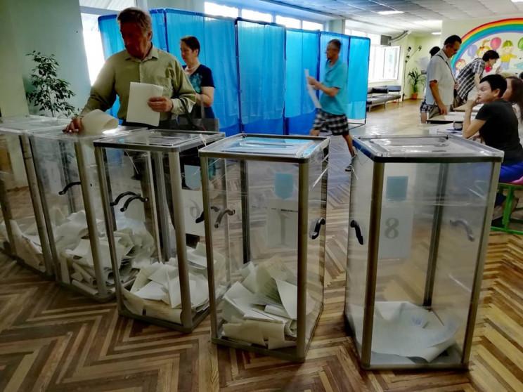 Явка на Вінниччині склала 51,03%…