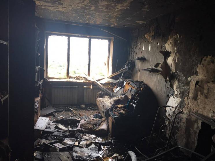 На Франківщині під час пожежі згорів 55-річний чоловік