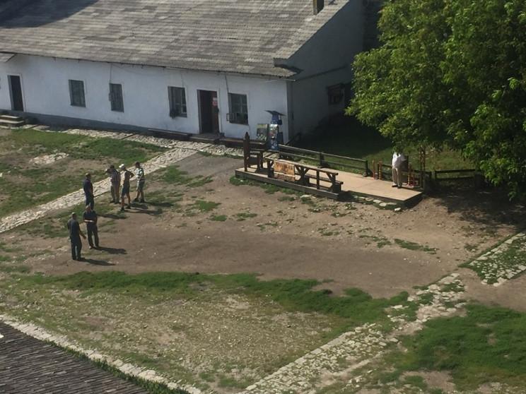 В Каменец-Подольском на месте церкви Пок…