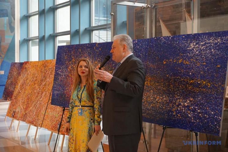 В ООН открылась выставка украинской худо…