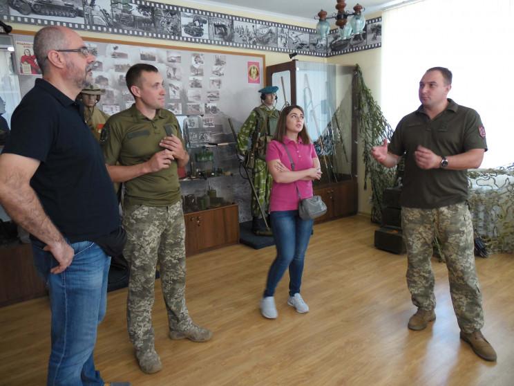 Координаторы проектов ОБСЕ посетили воен…
