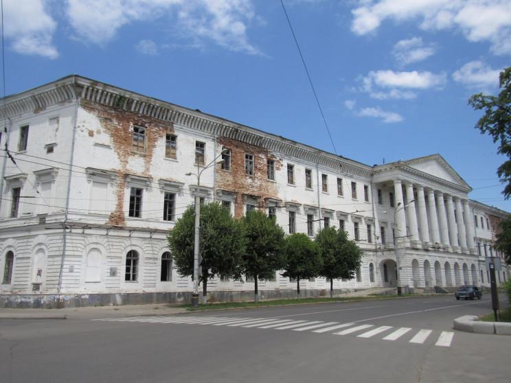 Унікальну історичну будівлю в центрі Пол…
