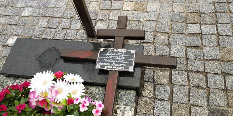 Ламав і нівечив пам'ятник: У Сумах встан…