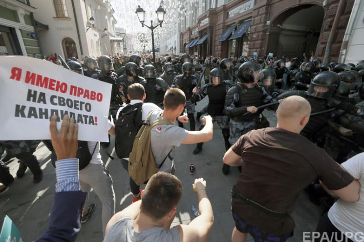 """Атака Госдепа: Зачем Путин ищет """"внешних…"""