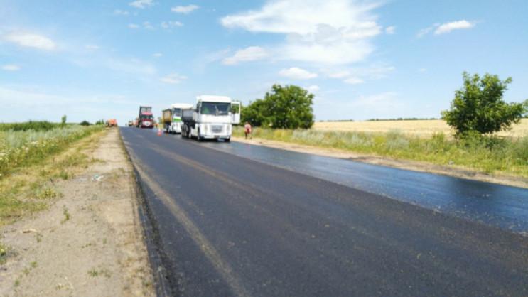 Завершается ремонт автодороги Н-14 Кропи…