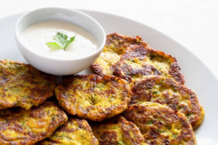 Рецепт оладків з кабачків від DEPO.Кухня…
