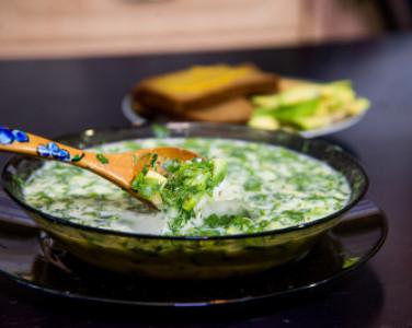 Рецепт окрошки с авокадо от DEPO.Кухня — превью