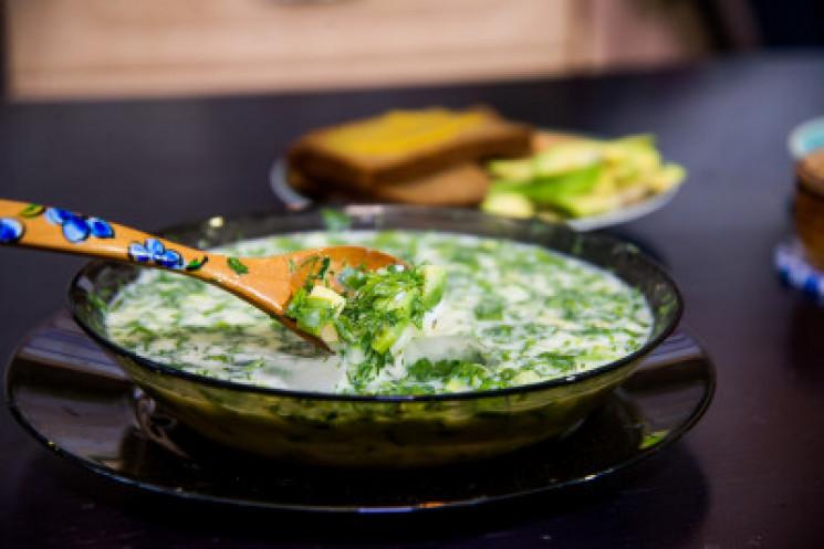 Зображення  — Рецепт окрошки з авокадо від DEPO.Кухня