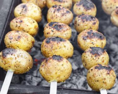 Мариновані гриби на грилі. Рецепт від DEPO.Кухня — превью