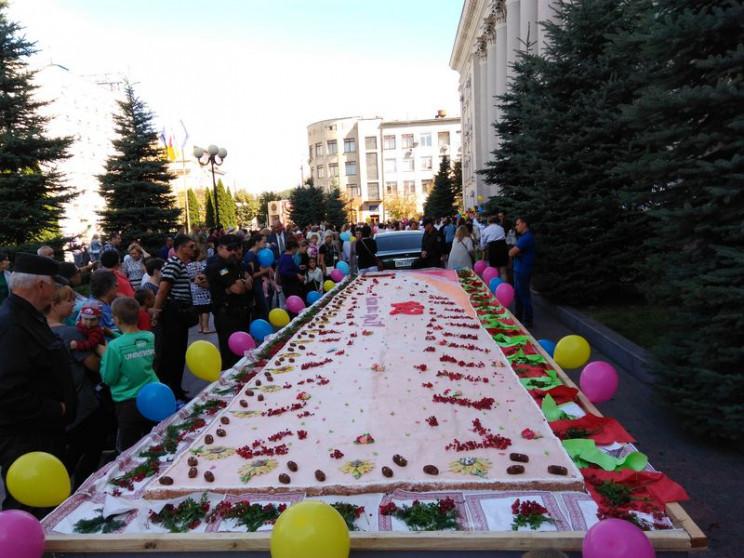 К 265-летию Кропивницкого испекут пирог…