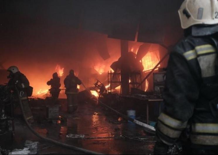 Ліквідована пожежа на краснодарському ск…