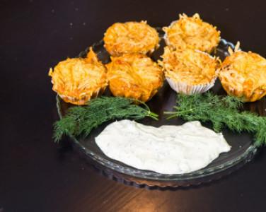 Рецепт кабачкових мафінів з паприкою від DEPO.Кухня — превью