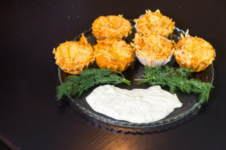 Рецепт кабачкових мафінів з паприкою від…