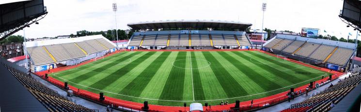 Національна збірна з футболу вперше зігр…