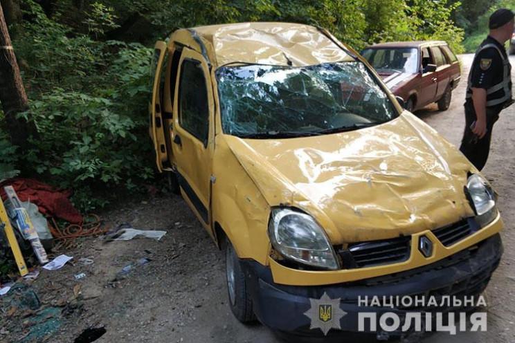 На Тернопільщині некерована автівка в'їх…