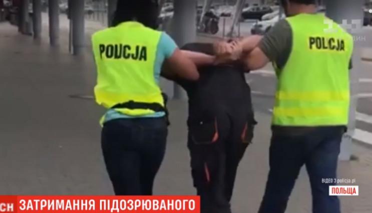 Польська поліція оприлюднила відео затри…