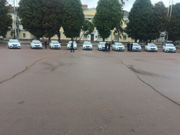 У Хмельницькому на майдані Незалежності…