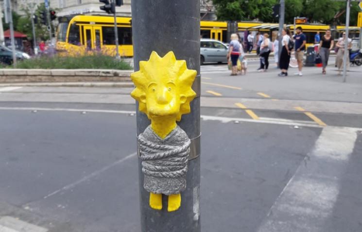 У Будапешті з'явилася скульптурка Лізи С…