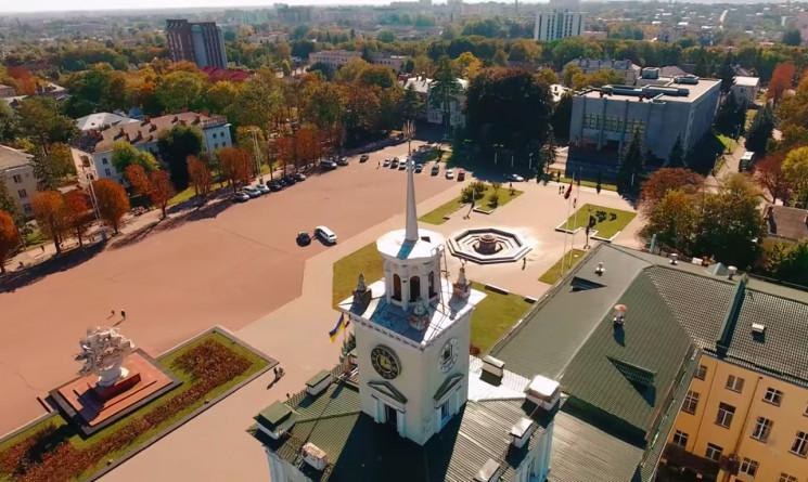 Погляд з дрона: Хмельницький - місто Бог…