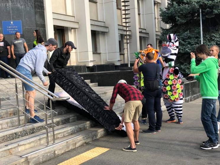 Активісти вийшли на мітинг проти признач…