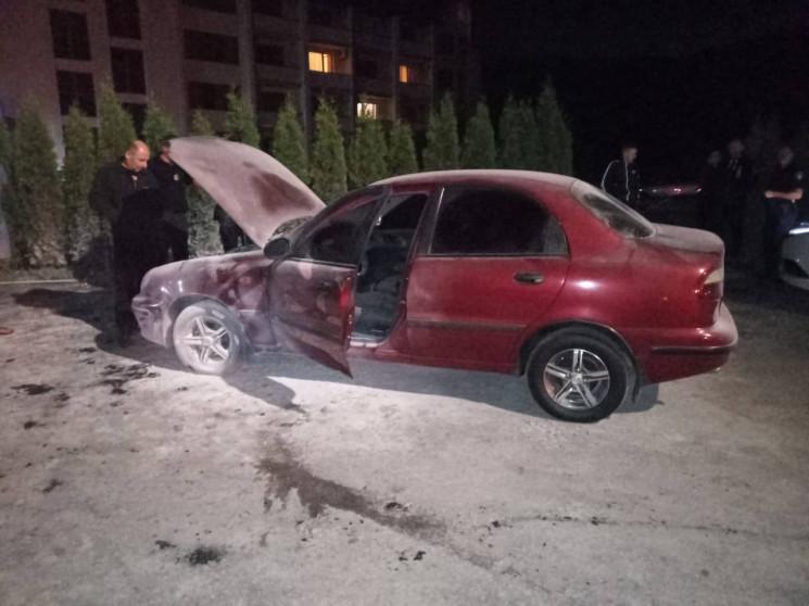 На Свалявщині під час руху загорівся авт…