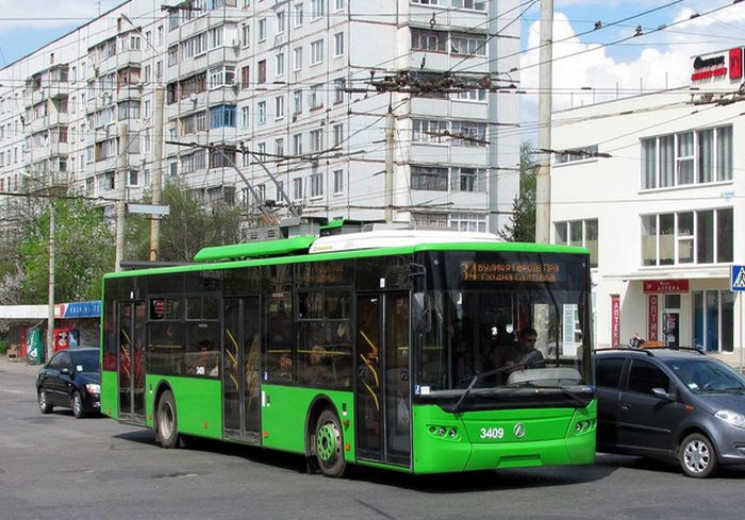 В Харькове троллейбусы четырех маршрутов…