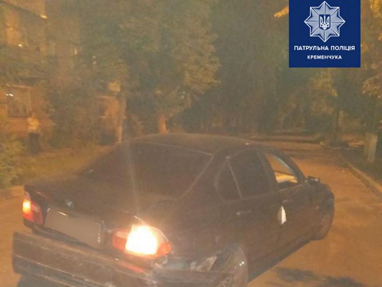 На Полтавщині нетверезий водій без прав…