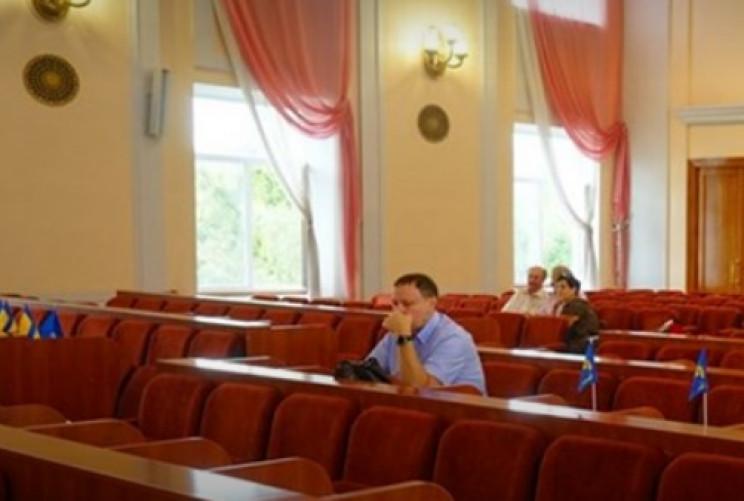 Зірвана сесія: У Кропивницькому депутати…