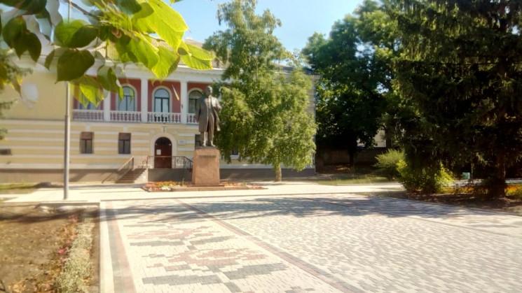 У сквері імені Т. Шевченка в Кропивницьк…