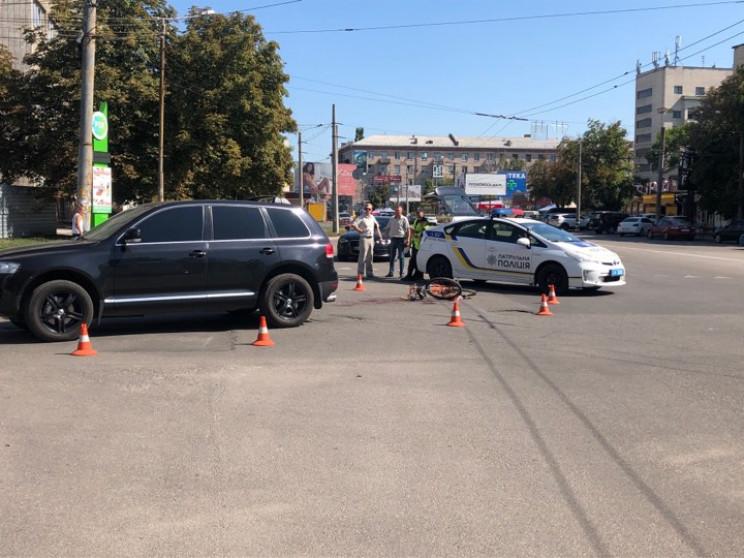 В центре Кропивницкого произошло сразу д…
