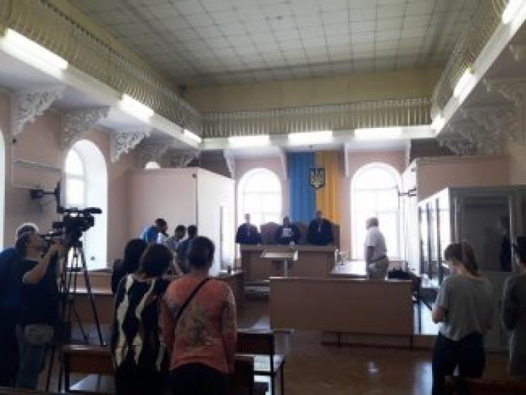 Подозреваемого в убийстве Дианы Хриненко…