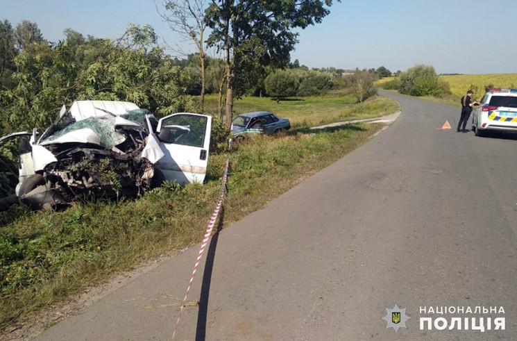 У Волочиському районі автівка злетіла з…