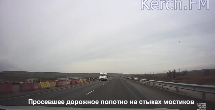 На розхваленій окупантами трасі до Кримс…