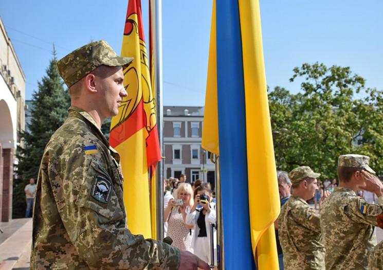 На главной площади Кропивниччины Государ…