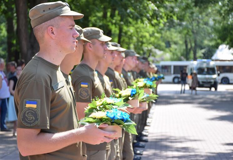 Пам'ять загиблих захисників України вшан…