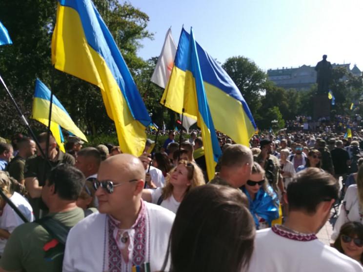 Марш захисників України (ТРАНСЛЯЦІЯ)…