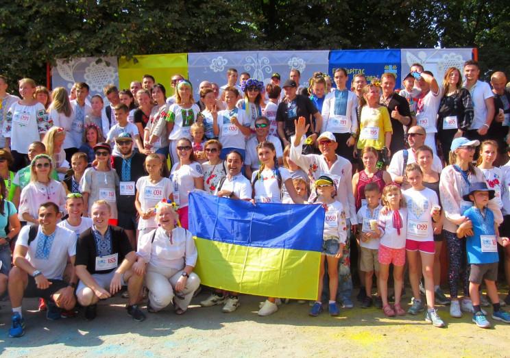 В День независимости Украины полтавчане…