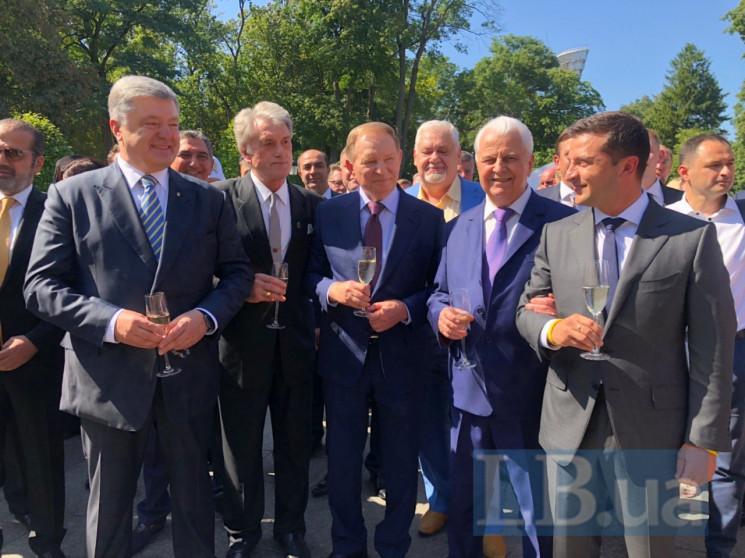Як п'ятеро президентів у Маріїнському па…