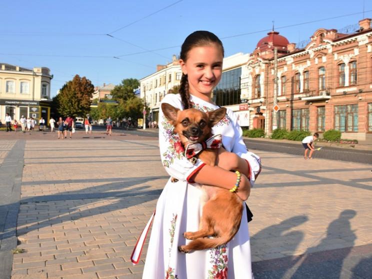 Шествие вышиванок состоялась в Кропивниц…