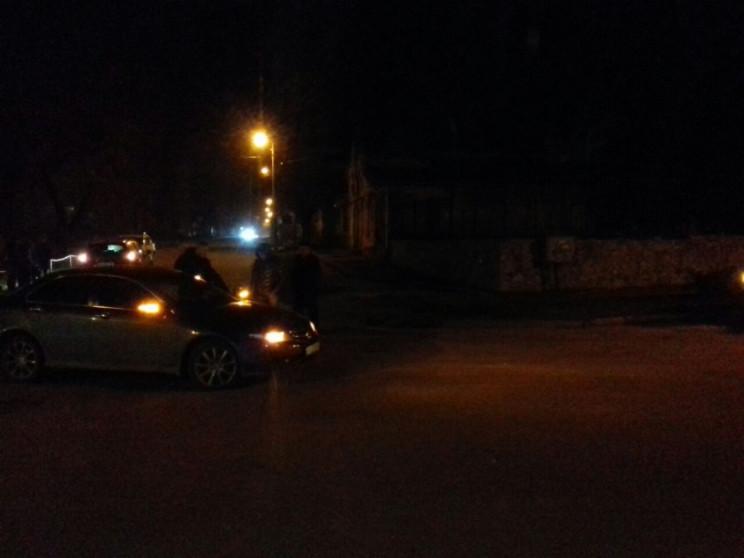 У Кропивницькому зіштовхнулись Honda Acc…