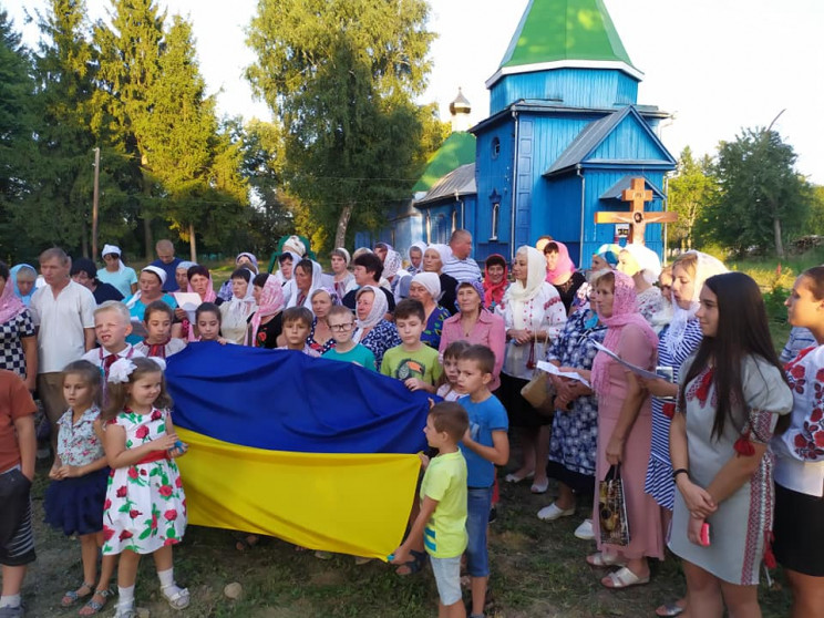 У селі під Вінницею прихожанин московськ…