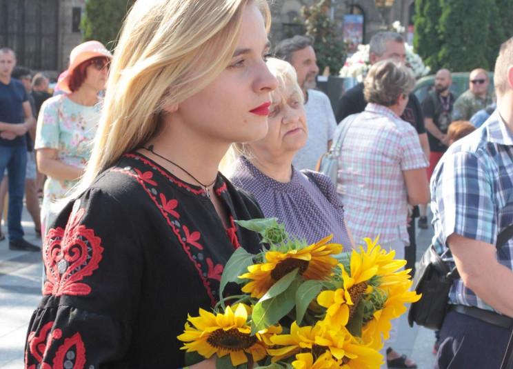Як у Львові вшанували річницю Іловайсько…