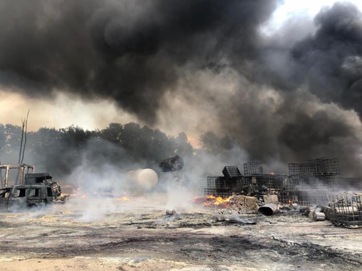 У пожежі біля Львова травмувались двоє п…