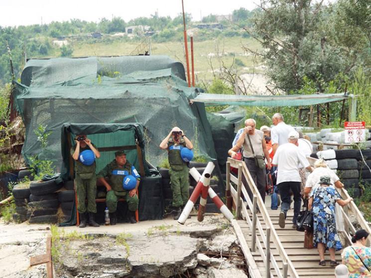 Українська сторона розбирає останнє укрі…