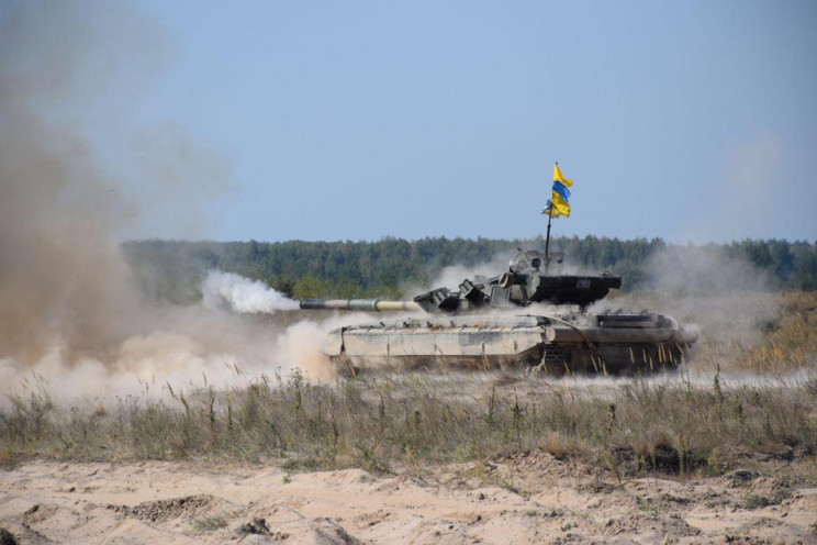 На Чернігівщині змагаються танкісти…